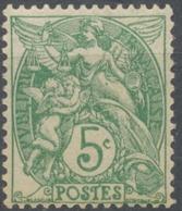 Type Blanc. 5c. Vert (IIA (1925) Neuf Luxe ** Y111 - Ungebraucht