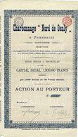 Titre Ancien - Charbonnage Nord De Genly à Frameries - Société Anonyme  - Titre De 1906 - - Mines