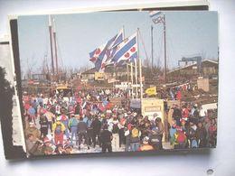 Nederland Holland Pays Bas Elfstedentocht 1985 Drukte Stavoren - Stavoren