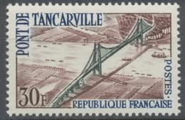 Inauguration Du Pont De Tancarville. 30f. Bistre, Vert Et Bleu. Neuf Luxe ** Y1215 - Ungebraucht
