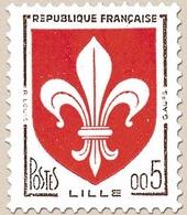 Armoiries De Villes. 5c. Brun-noir Et Rouge Y1230 - Ungebraucht