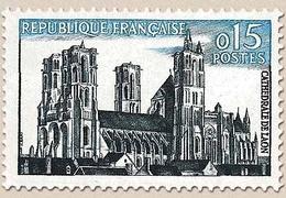 Série Touristique. Cathédrale De Laon  15c. Bleu-noir Et Bleu Y1235 - Ungebraucht