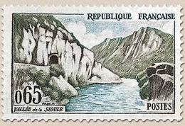 Série Touristique. Vallée De La Sioule  65c. Bistre-olive, Brun Et Bleu Y1239 - Ungebraucht