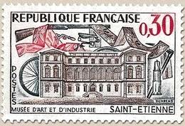 Musée D'art Et D'industrie De Saint-Étienne. 30c. Brun-lilas, Vert-bleu Et Rouge Y1243 - Ungebraucht