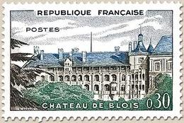 Château De Blois. 30c. Bleu, Sépia Et Vert-bleu Y1255 - Ungebraucht
