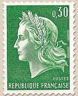Type Marianne De Cheffer (I) 30c. Vert Y1536A - Ungebraucht
