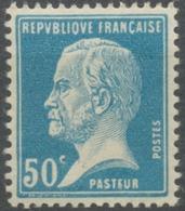 Type Pasteur. 50c. Bleu Neuf Luxe ** Y176 - Nuevos