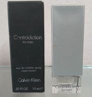 CONTRADICTION FOR MEN - EDT Vapo 10 ML De CALVIN KLEIN - Mignon Di Profumo Moderni (a Partire Dal 1961)