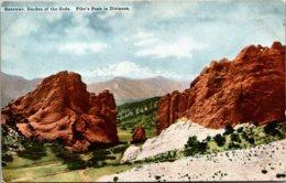 Colorado Garden Of The Gods Gateway - Etats-Unis