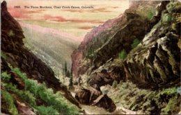 Colorado Clear Creek Canon The Three Brothers - Etats-Unis