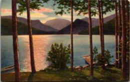 Colorado Grand Lake Morning Scene Mt Baldy In Bacjground Curteich - Etats-Unis