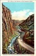 Colorado Cliffs At The Entrance Of Big Thompson Canon - Etats-Unis
