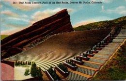 Colorado Red Rocks Theatre Park Of The Red Rocks - Denver