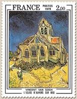 Série Artistique. L'Eglise D'Auvers-sur-Oise, De Vincent Van Gogh (1853-1890)  2f. Polychrome Y2054 - Ungebraucht