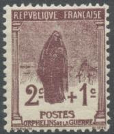 Au Profit Des Orphelins De La Guerre. 2c.+1c. Brun-lilas (148) Neuf Luxe ** Y229 - Ungebraucht