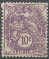 Type Blanc. 10c. Violet (II) Neuf Luxe ** Y233 - Nuevos