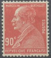 Centenaire De La Naissance De Marcelin Berthelot (1827-1907) 90c. Rouge Neuf Luxe ** Y243 - Unused Stamps