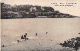 PORNIC (44-Loire Atlantique) Colonie Vacances Enfants De Sarre Et Moselle - Leçon De Natation - Pornic