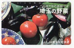 TELECARTE JAPON TOMATE AUBERGINE - Alimentación