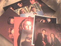 David Duchovny Gillian XFiles 9 Cartes Et Photos 20.5 Cm X 25.5 Cm - Fotos
