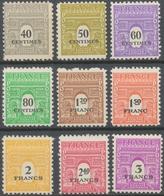 Série Type Arc De Triomphe De 1944. 2e Série.  10 Valeurs Neuf Luxe ** Y711S - Nuevos