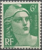 Type Marianne De Gandon. 6f. Vert. Neuf Luxe ** Y884 - Unused Stamps