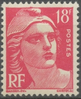 Type Marianne De Gandon. 18f. Rose Carminé. Neuf Luxe ** Y887 - Unused Stamps