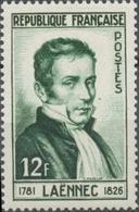Dr René Laennec, Inventeur Du Stéthoscope. 12f. Vert Foncé. Neuf Luxe ** Y936 - Unused Stamps