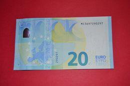 M005 A1 PORTUGAL - M005A1 * 20 EURO  - MC3697290297 - NEUF - UNC - 20 Euro
