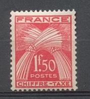 Type Gerbes. N°71 1f.50 Rouge N** YX71 - 1859-1955 Mint/hinged