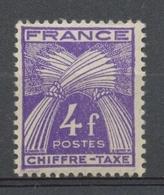 Type Gerbes. N°74 4f. Violet N** YX74 - 1859-1955 Mint/hinged