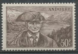 Andorre Français N°118, 50f. Brun-lilas NEUF** ZA118 - Ungebraucht
