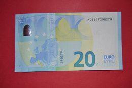 M005 A1 PORTUGAL - M005A1 * 20 EURO  - MC3697290279 - NEUF - UNC - 20 Euro