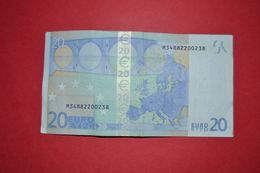 U007 G3 PORTUGAL - U007G3 * 20 EURO  - M34882200238 - CIRCULATED - EURO