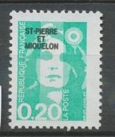 SPM  N°515 Marianne Du Bicentenaire. 20c. émeraude (2618) ZC515 - Ungebraucht