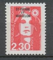 SPM  N°518 Marianne Du Bicentenaire. 2f.30  Rouge (2614) ZC518 - Ungebraucht