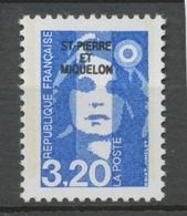 SPM  N°519 Marianne Du Bicentenaire. 3f.20  Bleu (2623) ZC519 - Ungebraucht