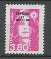 SPM  N°520 Marianne Du Bicentenaire. 3f.80  Rose (2624) ZC520 - Ungebraucht