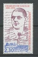 SPM  N°532 Centenaire De La Naissance Du Général Charles De Gaulle 2f30 ZC532 - St.Pierre & Miquelon