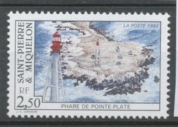 SPM  N°564 Les Phares. 2f.50  Phare De Pointe Plate ZC564 - St.Pierre & Miquelon
