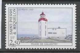 SPM  N°566 Les Phares. 2f.50  Phare De Galantry ZC566 - St.Pierre & Miquelon