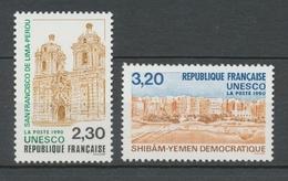 Service N°102-103 Série UNESCO Patrimoine Unniversel 2 Val. ZS102A - Neufs