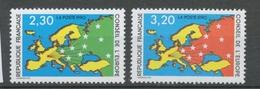 Service N°104-105 Série Conseil De L' Europe.  2 Valeurs ZS104A - Neufs
