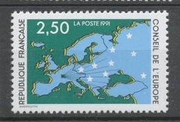 Service N°106 Conseil De L' Europe. 2f.50  Multicolore ZS106 - Neufs