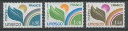 Service N°50-52 Série UNESCO.  3 Valeurs ZS50A - Neufs