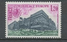 Service N°58 25e Anniversaire Convention Européenne 1f 20 ZS58 - Neufs