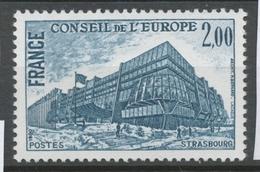 Service N°64 Conseil De L'Europe. 2f. Bleu-gris ZS64 - Neufs