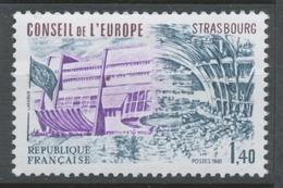Service N°65 Conseil De L' Europe 1f40 ZS65 - Neufs