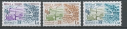 Service N°65-67 Série Conseil De L' Europe.  3 Valeurs ZS65A - Neufs