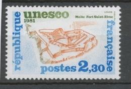 Service N°70 UNESCO Fort Saint-Elme - Malte 2f 30 ZS70 - Neufs